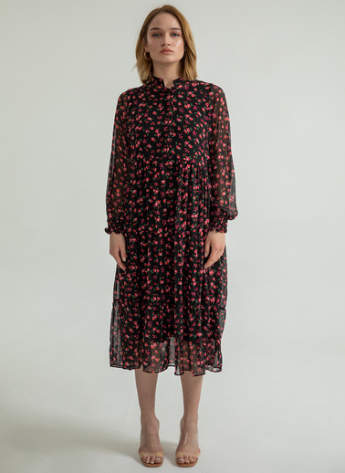 Foremia Elbise Petrol